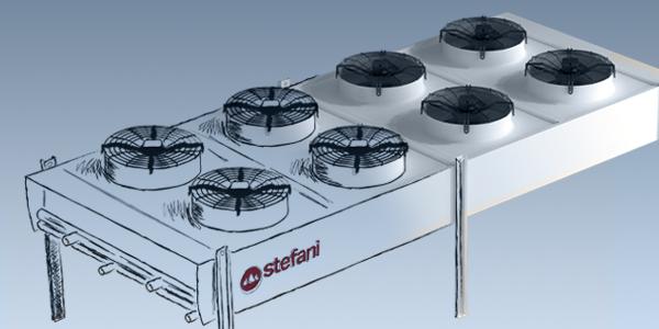 Disegno - SCIROCCO è il nuovo raffreddatore di liquido a tavola di Stefani - STEFANI