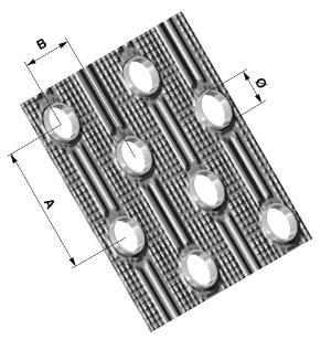 Geometria sfalsata - Stefani produce batterie di scambio termico da oltre 40 anni - STEFANI