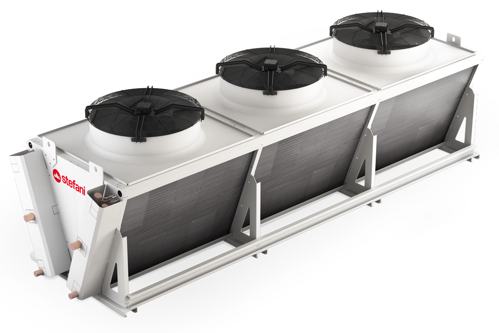 ZONDA è il nuovo condensatore monofila a V di Stefani - STEFANI