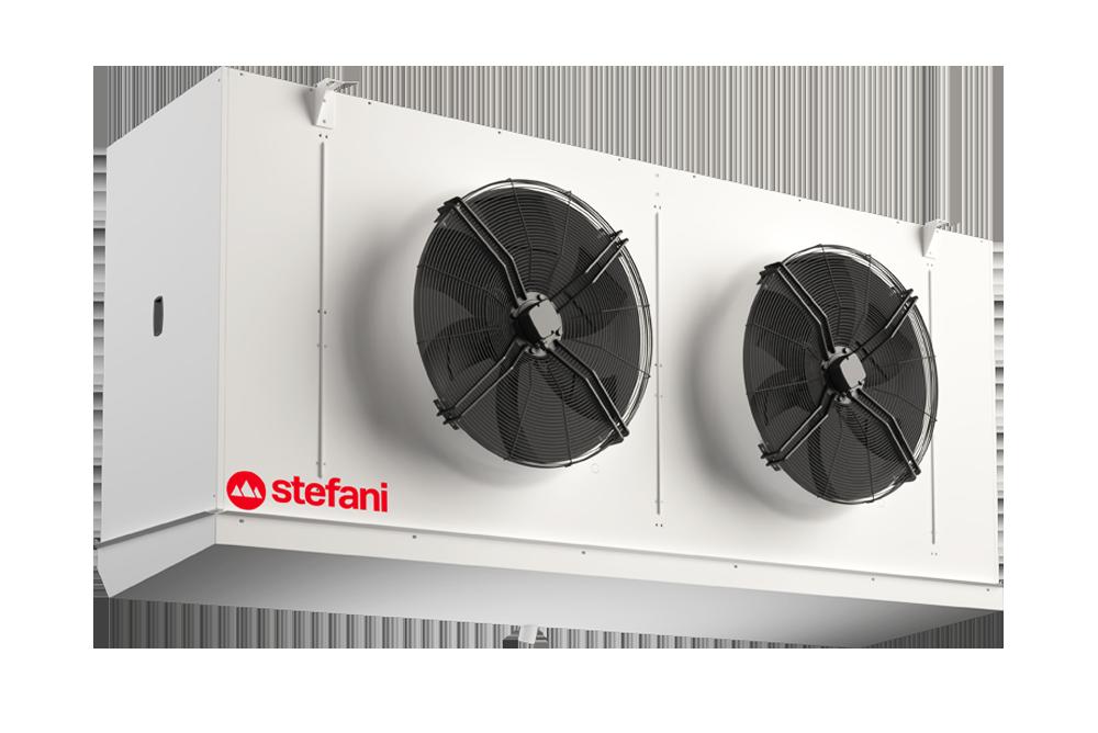 GRECALE è il nuovo aerorefrigerante cubico industriale di Stefani - STEFANI