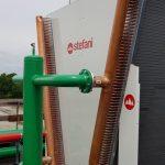 Raffreddamento per processo petrolchimico - OSTRO è il nuovo raffreddatore di liquido a doppia fila a V di Stefani - STEFANI