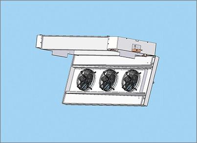 Carena aperta - ZEFIRO è il nuovo aerorefrigerante a doppio flusso di Stefani - STEFANI