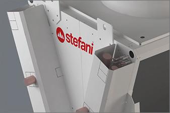Carpenteria - ZONDA è il nuovo raffreddatore di liquido monofila a V di Stefani - STEFANI